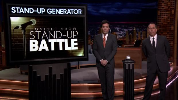 [NATL] 'Tonight': Stand-Up Battle with Jerry Seinfeld