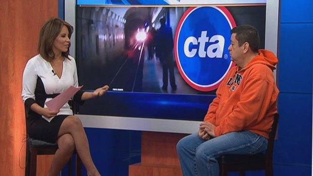 [CHI] TSA Worker Describes Train Track Rescue