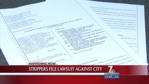 [DGO] Strip Club Dancers File Lawsuit Against SDPD