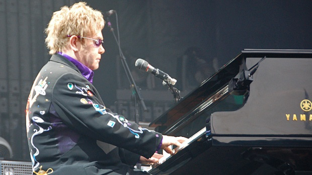 Piano and Rocket Men Rock Wrigley