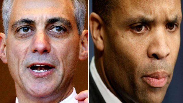 "Emanuel on JJJr.'s Resignation: ""Time to Move Forward"""