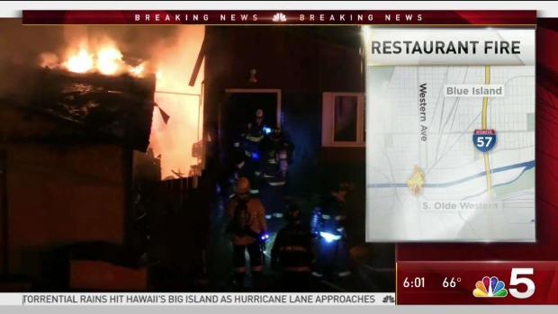 [CHI] Fire Tears Through Popular South Suburban Restaurant