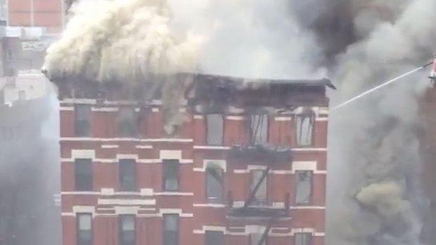 [NATL] WATCH: Building Explosion in Lower Manhattan