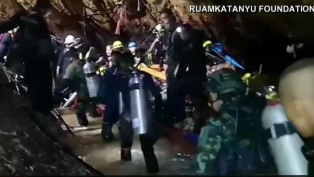 [NATL-LA] Four Boys Rescued From Cave in Thailand