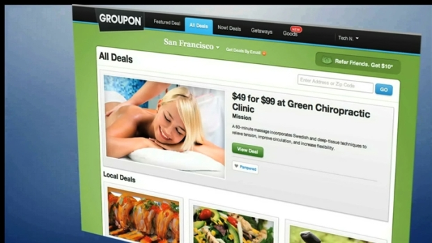 Groupon's Stock Hits Single Digits