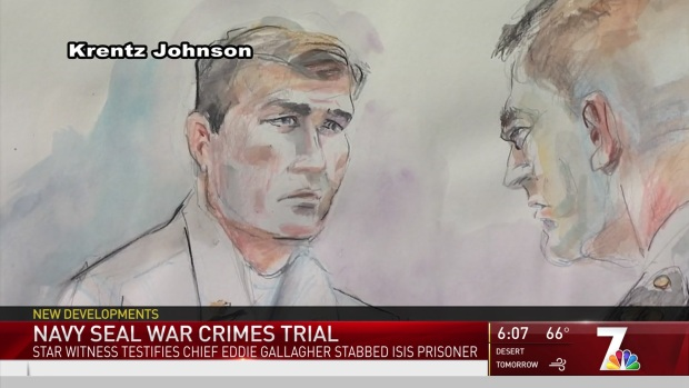 [NATL DGO] Star Witness Testifies in Navy SEAL War Crimes Trial