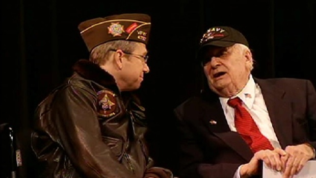 [CHI] WWII Veteran Receives Overdue Medals