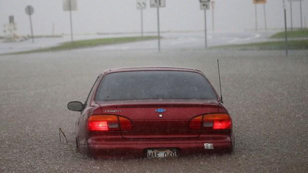 Top News Photos: Hurricane Lane Floods Hawaii
