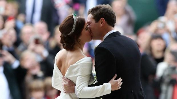 Royal Family Photos: Princess Eugenie Weds Beau