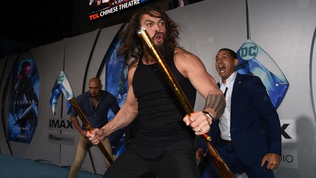 [NATL] Top Entertainment Photos: 'Aquaman' Premieres