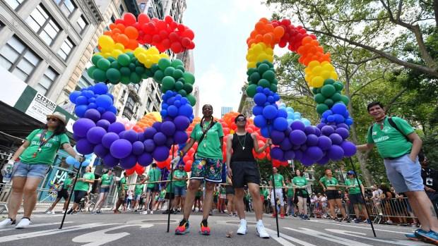 [NATL] NYC Pride Parade and WorldPride Commemorate 50th Anniversary of Stonewall Riots