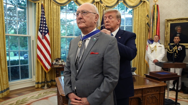 Top Sports Photos: Bob Cousy Receives Medal of Freedom