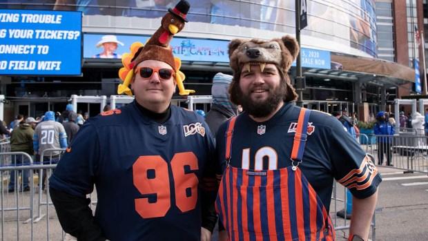 Bears vs. Lions: Week 13 in Photos