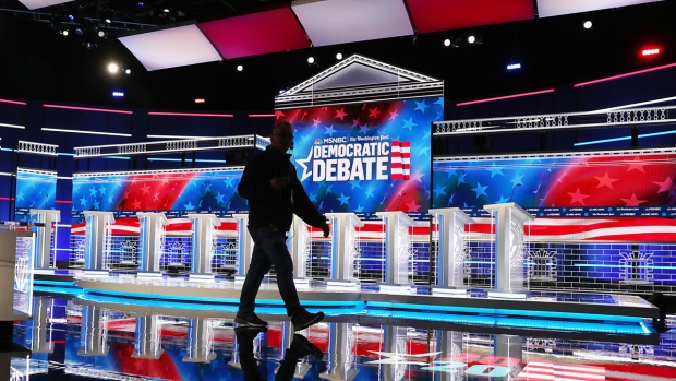 [NATL] Top News Photos: Candidates Prepare for November Debate, Impeachment Hearings, More