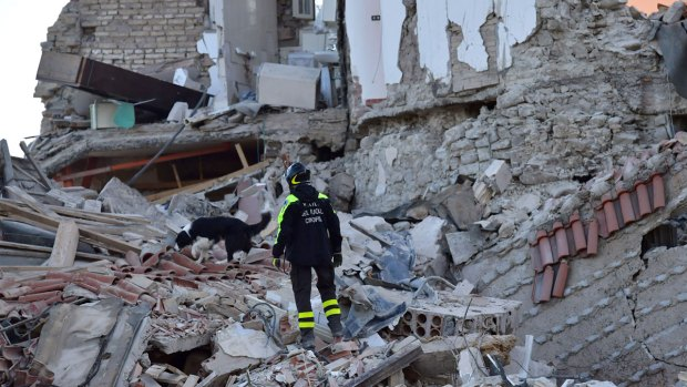 [NATL] Dramatic Images: Deadly Quake Rocks Central Italy