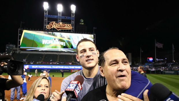 Anthony Rizzo's Dad Has Amazing Reaction to World Series Win