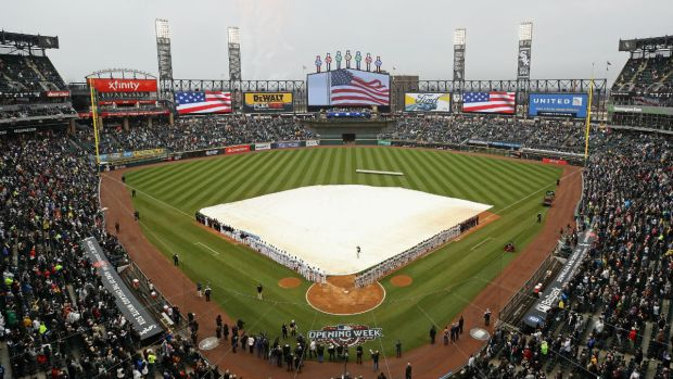 Coldest White Sox Home Openers in Guaranteed Rate Field History