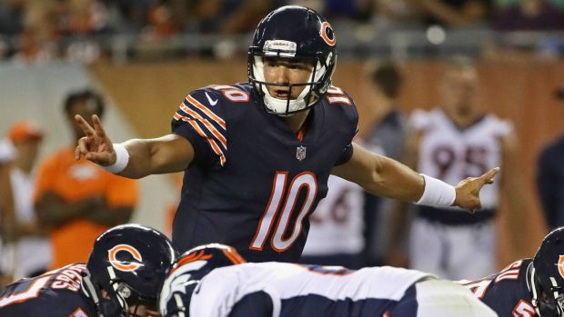 Mitchell Trubisky's Rookie Season in Photos