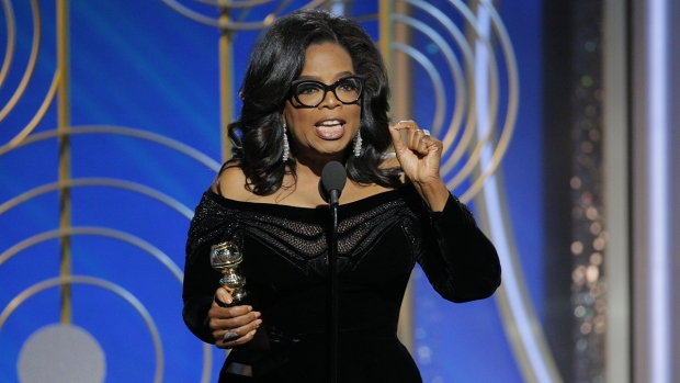 Oprah declares 'new day' for women in powerful Globes speech