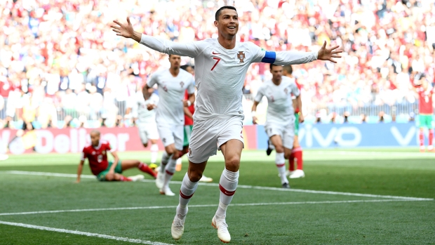 [NATL] Top Sports Photos: Cristiano Ronaldo Goal Wins World Cup Match for Portugal