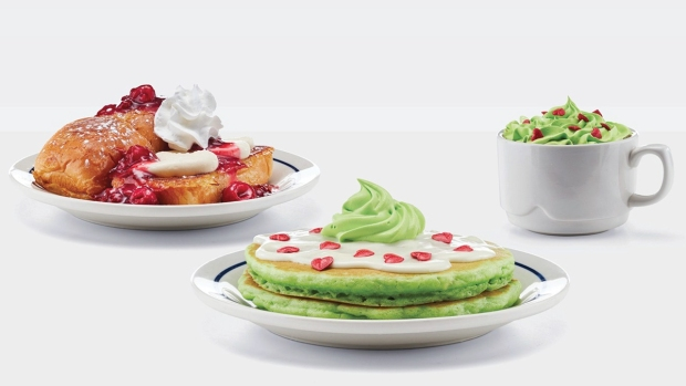 Wildest Food Crazes: Grinch's Green Pancakes, Thanksgiving Dinner in a Can