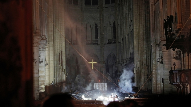 Photos: Inside Notre Dame After Devastating Fire