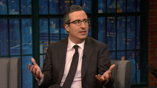 [NATL] 'Late Night': John Oliver Couldn't Care Less About Royal Engagement