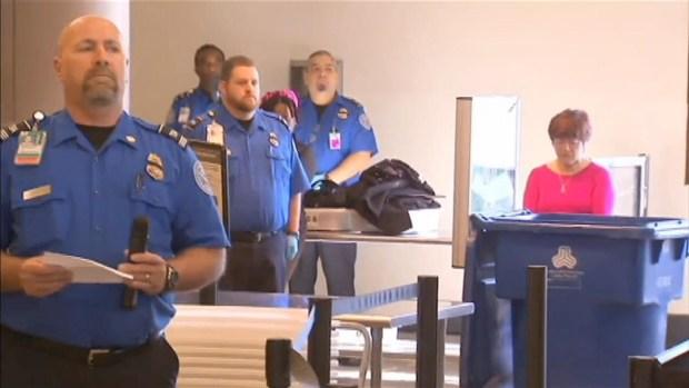 [LA] Moment of Silence at LAX for Slain TSA Officer