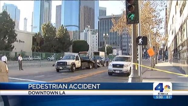 [LA] LA Mayor in Car That Hit Pedestrian
