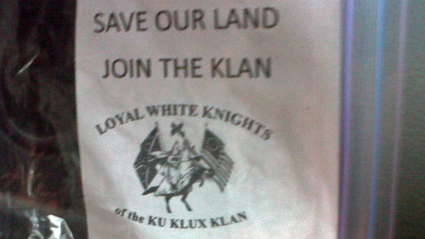 [CHI] Ku Klux Klan Fliers Found in Southwest Suburb