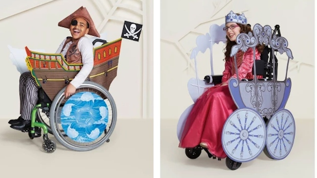 [NATL] Target Reveals New Wheelchair-Friendly Halloween Costumes