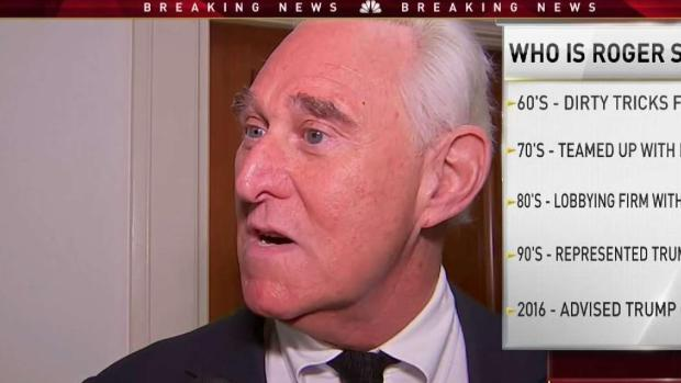 [NATL-MI] Longtime Trump Ally Roger Stone Arrested in South Fla.