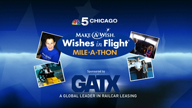 [CHI] Make A Wish Miles-A-Thon on NBC5 sponsored by GATX
