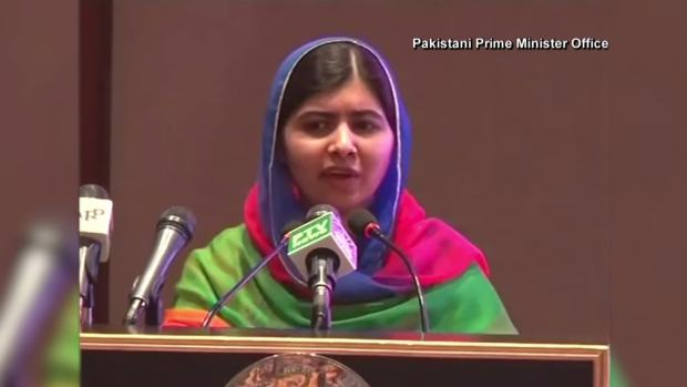 [NATL] Malala Yousafzai Returns to Pakistan for the First Time Since Shooting