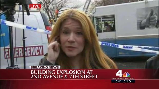 [NATL-NY] Eyewitness: Man Witnesses Building Explosion From Starbucks