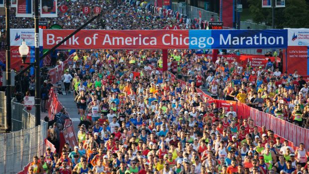 Chicago Beefs Up Security for Sunday's Marathon