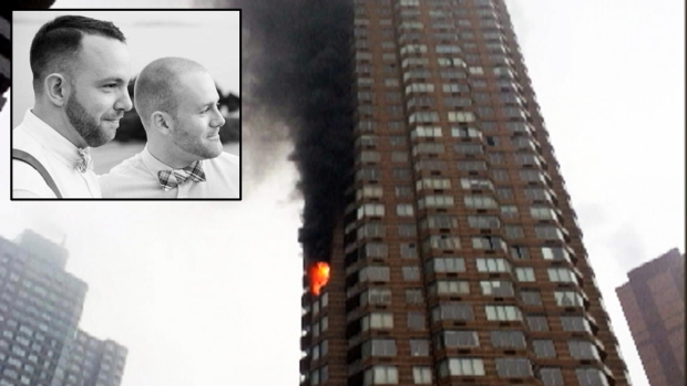 [NY] Man Killed, Husband Injured in High-Rise Fire: Officials