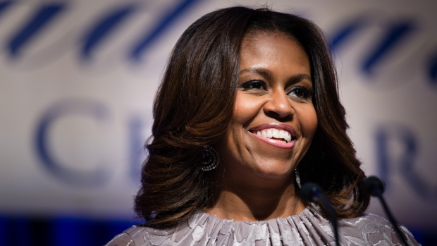 [CHI] Michelle Obama Visits Chicago for DNC Fundraiser