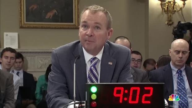 [NATL] Mulvaney Defends Budget Cuts to Social Welfare Programs