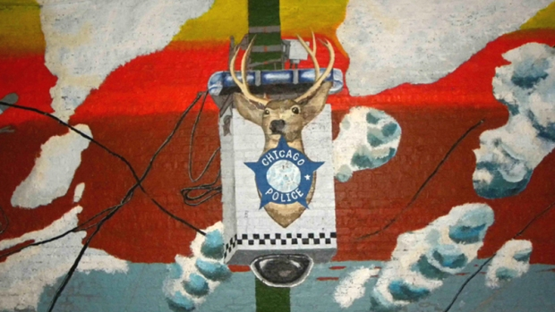 Graffiti Blasters Abolish Mural