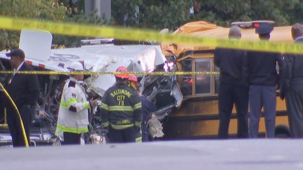 [NATL] Baltimore Bus Crash Leaves Six Dead