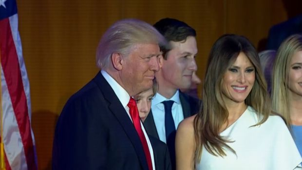 [NATL] The Trumps Head to the White House