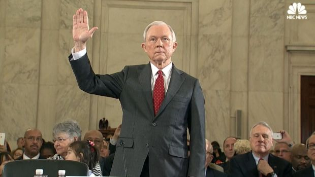 Jeff Sessions Testifies, Defends His Silence on 'Private' Conversations With Trump