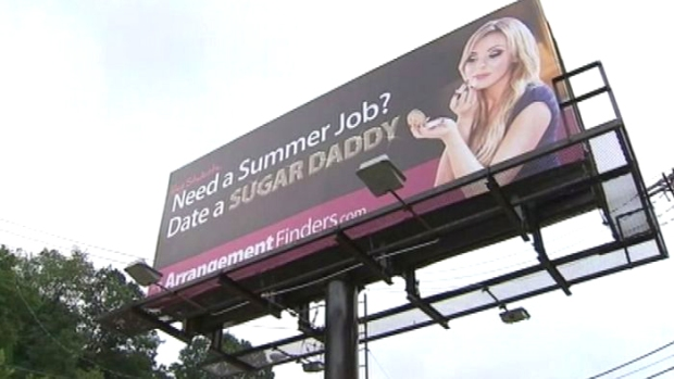 "[NATL] Pittsburgh Students Unimpressed with ""Sugar Daddy"" Billboard"