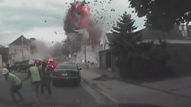 [NATL] Deadly Wisconsin Explosion Caught on Camera