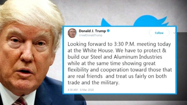 [NATL] Trump Pushing Ahead With Tariffs