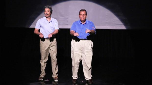 "[NATL] ""The Evolution of Dad Dancing"" With NJ Gov. Chris Christie"