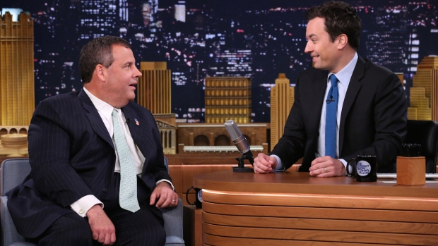 "[NATL] NJ Gov. Chris Christie Talks Politics on ""The Tonight Show"""