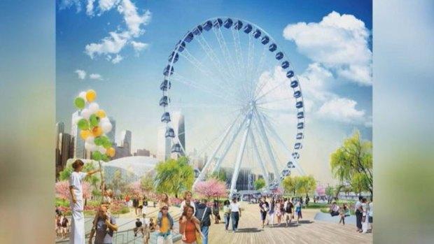 [CHI] Navy Pier to Get Newer, Taller Ferris Wheel
