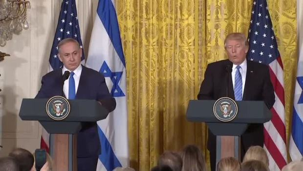 [NATL] Standing With Israel PM, Trump Affirms Support for Jewish-Americans, Israel